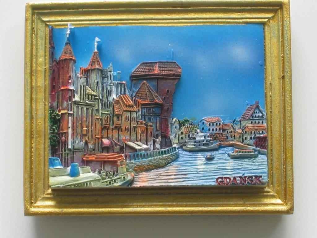 Magnet - Gdansk - Seaside - Frame