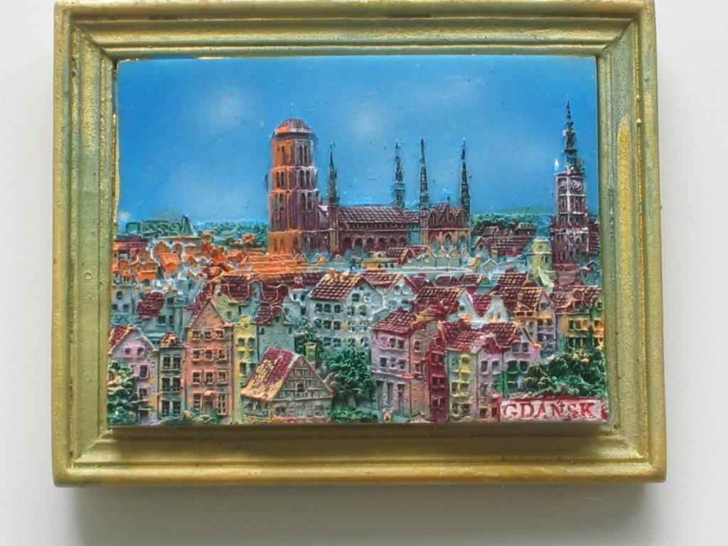 Magnes - Gdańsk - Widok z góry Ramka