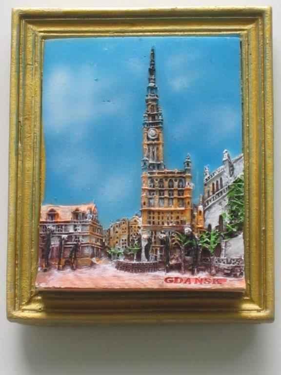 Magnet - Gdansk - Town Hall - Frame