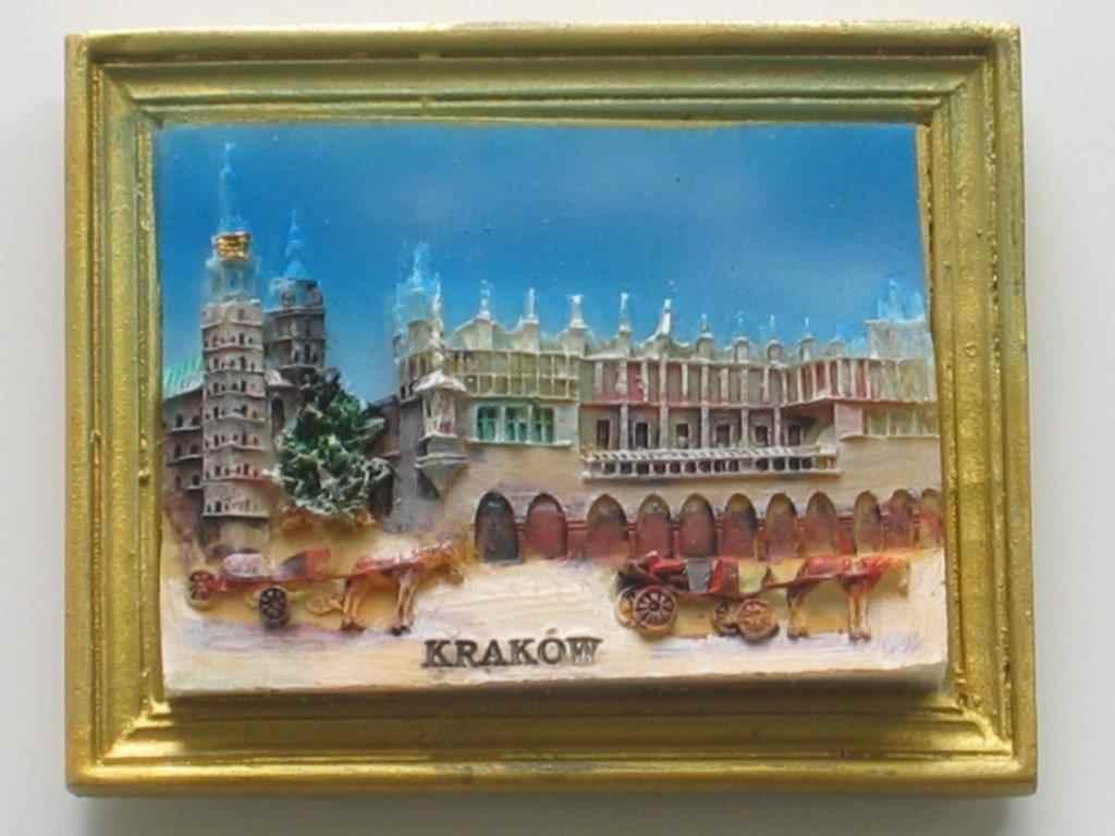 Magnes - Kraków - Sukiennice, dorożki Ramka