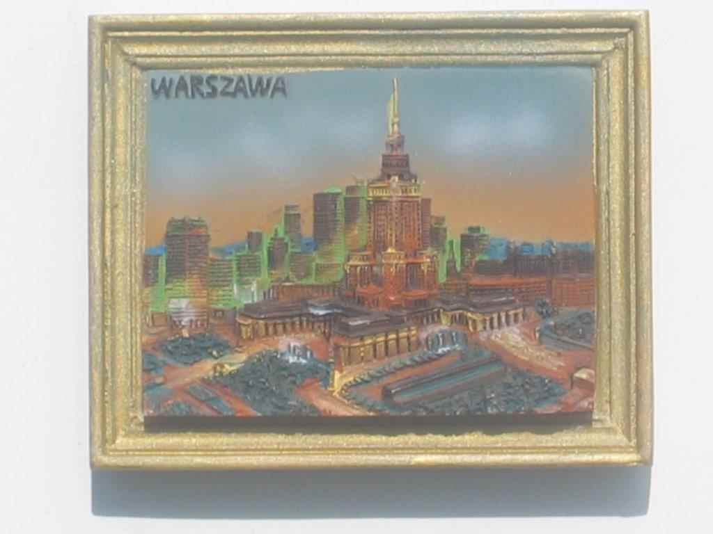 Magnet - Warsaw - Palace of Culture and Science - Frame