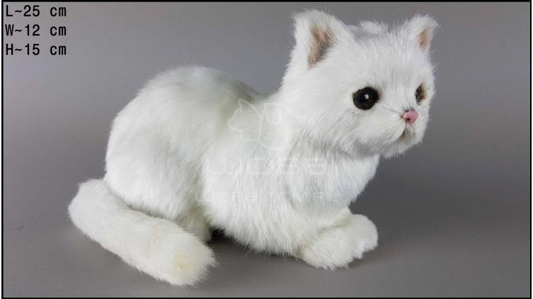 Kot siedzący duży Biały