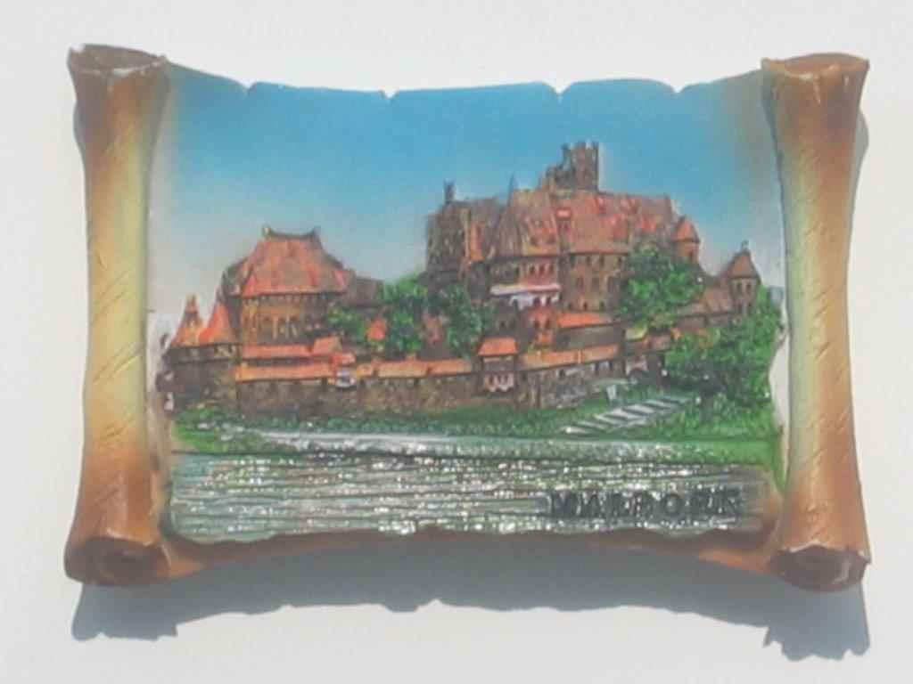 Magnes - Malbork - Zamek 1 Pergamin