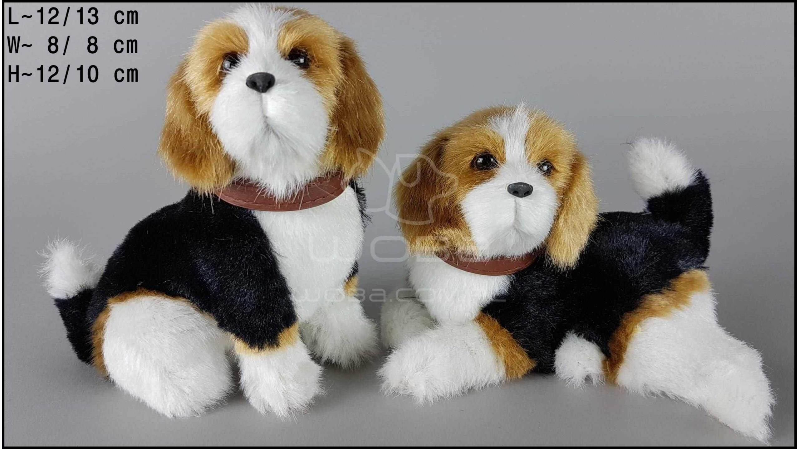 Beagle barking (2 pcs in a box)