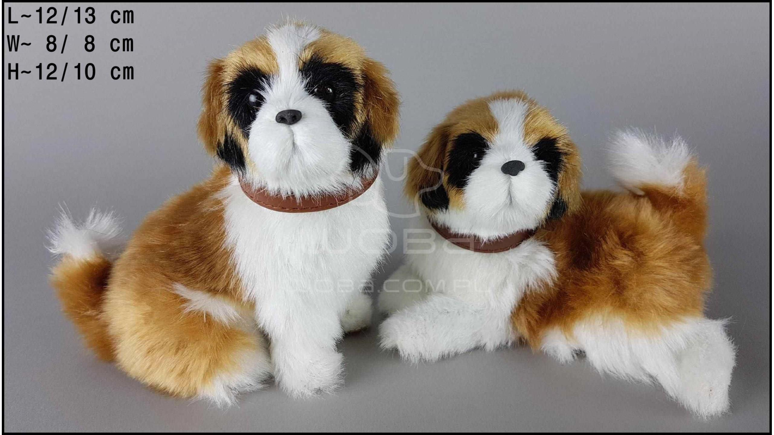 St. Bernard barking (2 pcs in a box)