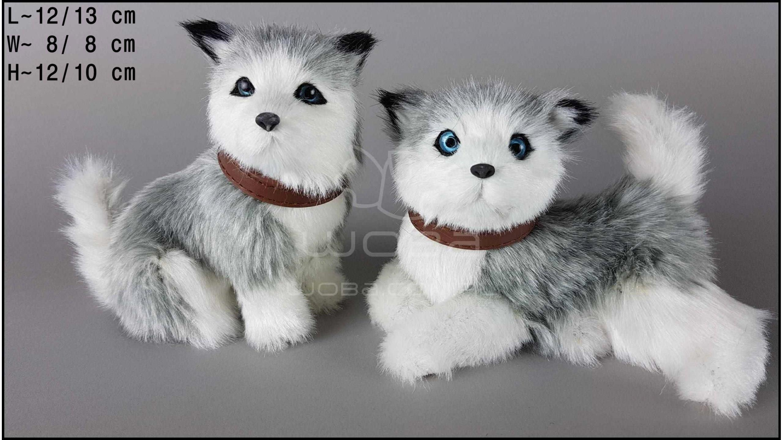 Husky barking (2 pcs in a box)