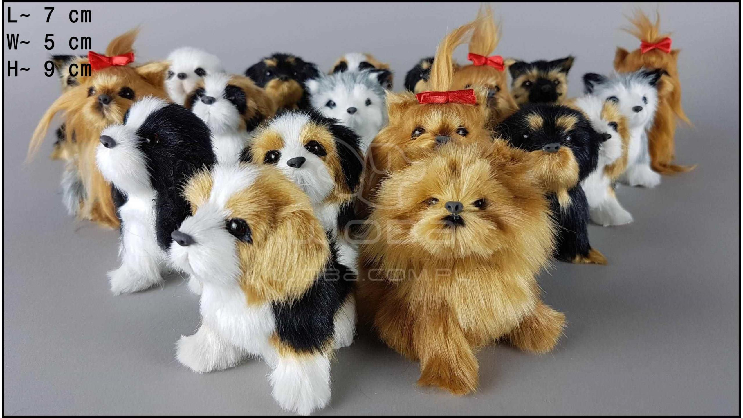 Little dogs barking (19 pcs in a box)