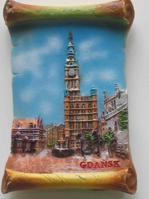 Magnet - Gdansk - Town Hall - Vellum