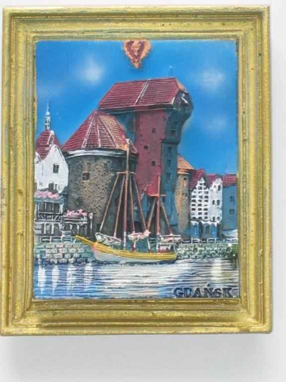 Magnet - Gdansk - Crane - Frame