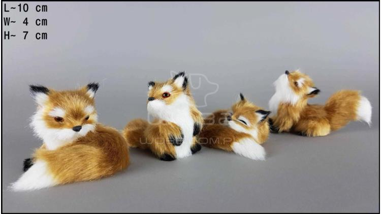 Little foxes (4 pcs in a box)