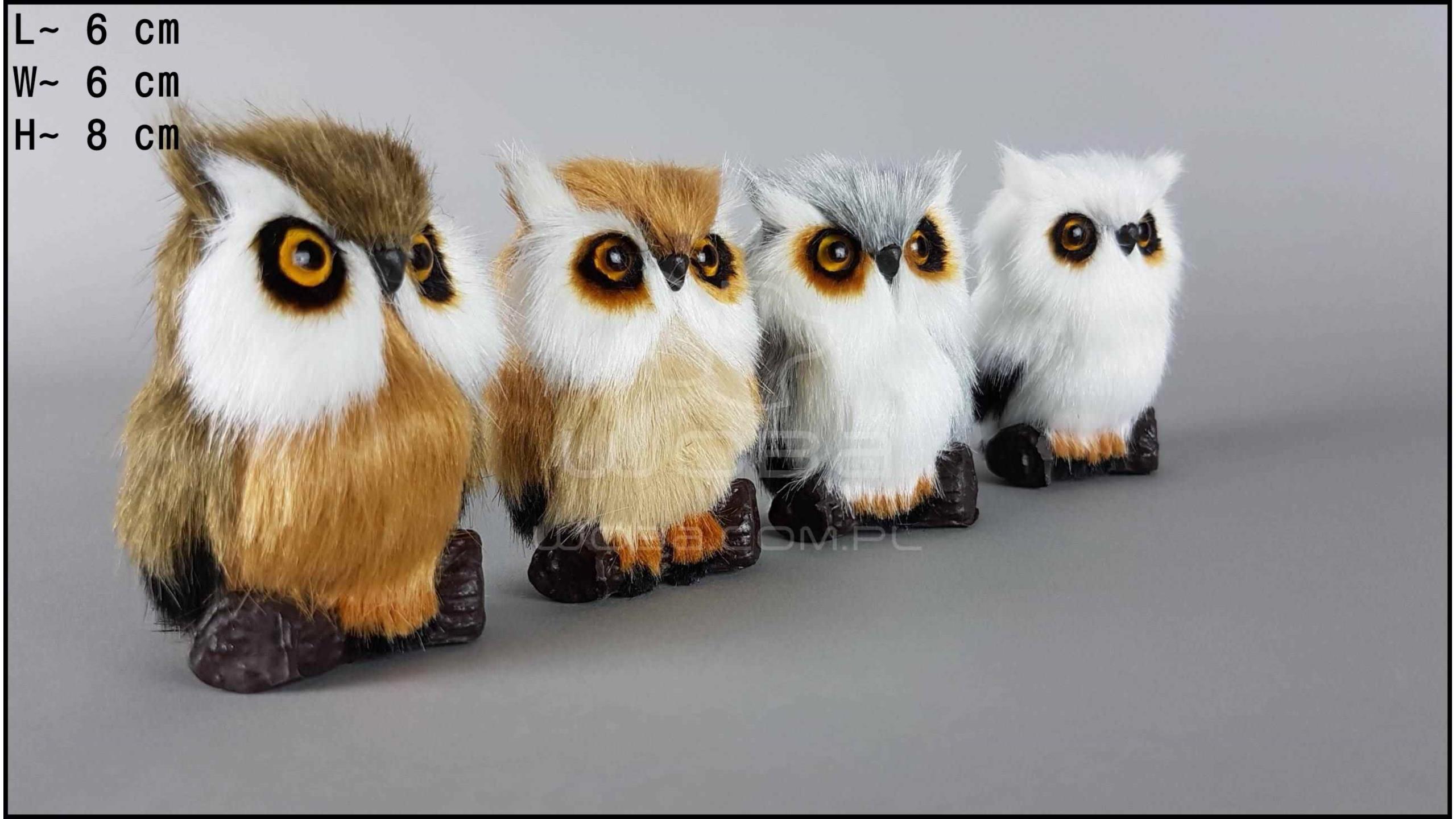 Little owls (4 pcs in a box)