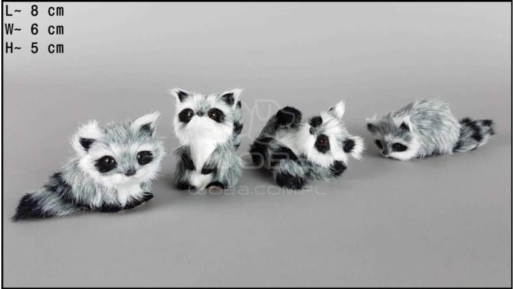 Little raccoons (4 pcs in a box)