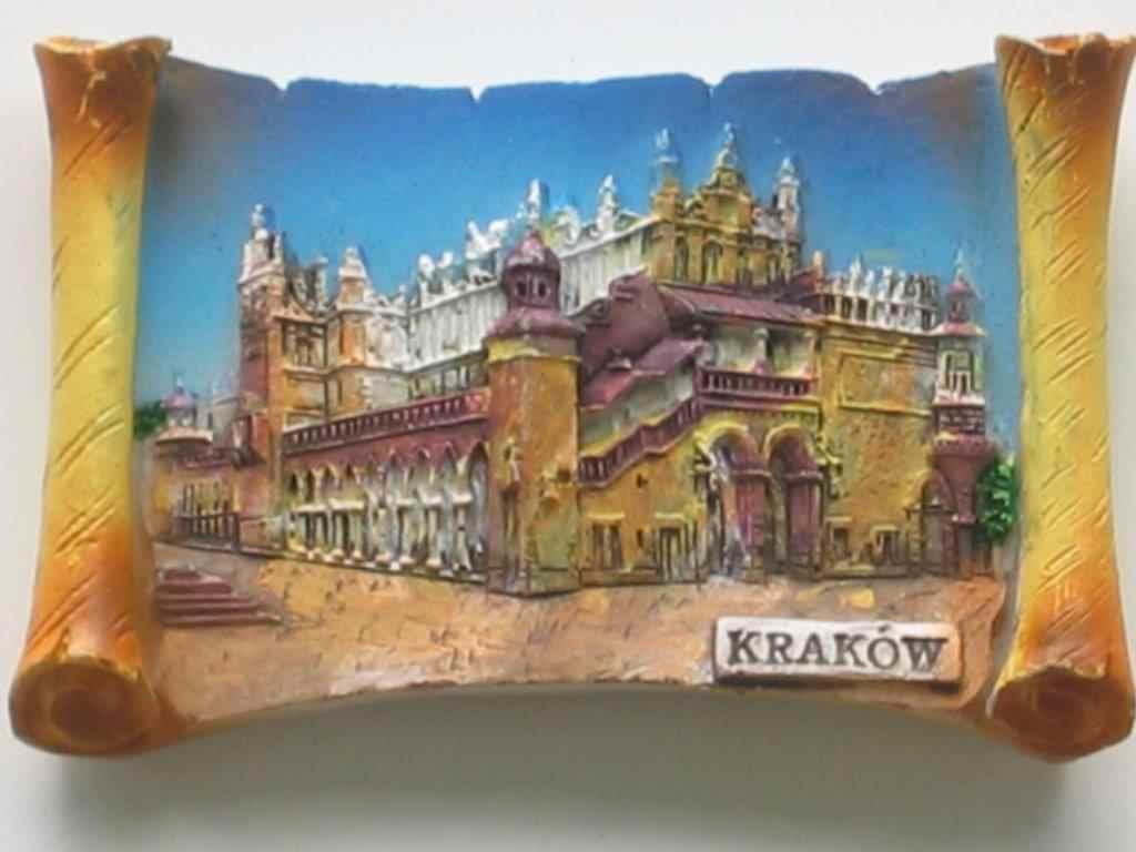Magnes - Kraków - Sukiennice wschód Pergamin