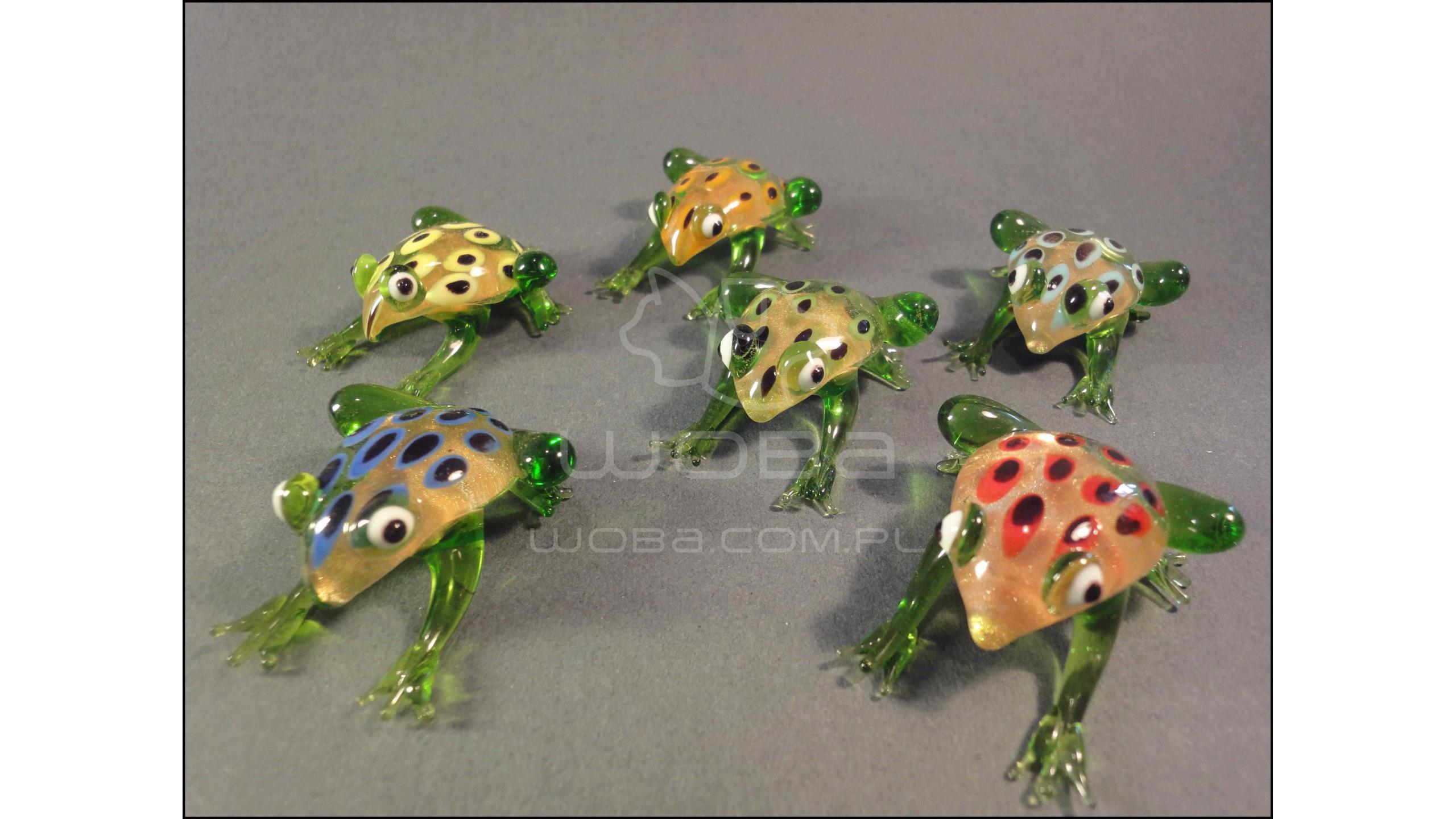 Żaba Mix 6 kolorów