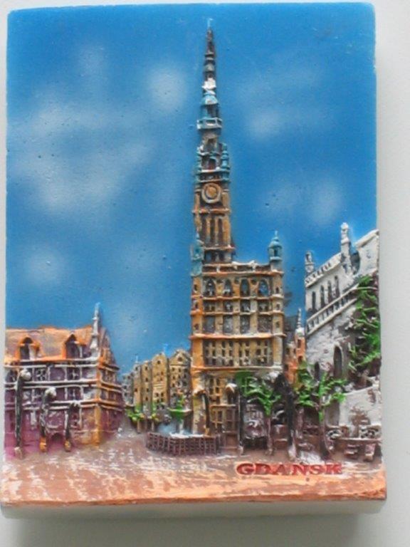 Magnet - Gdansk - Town Hall - Plank