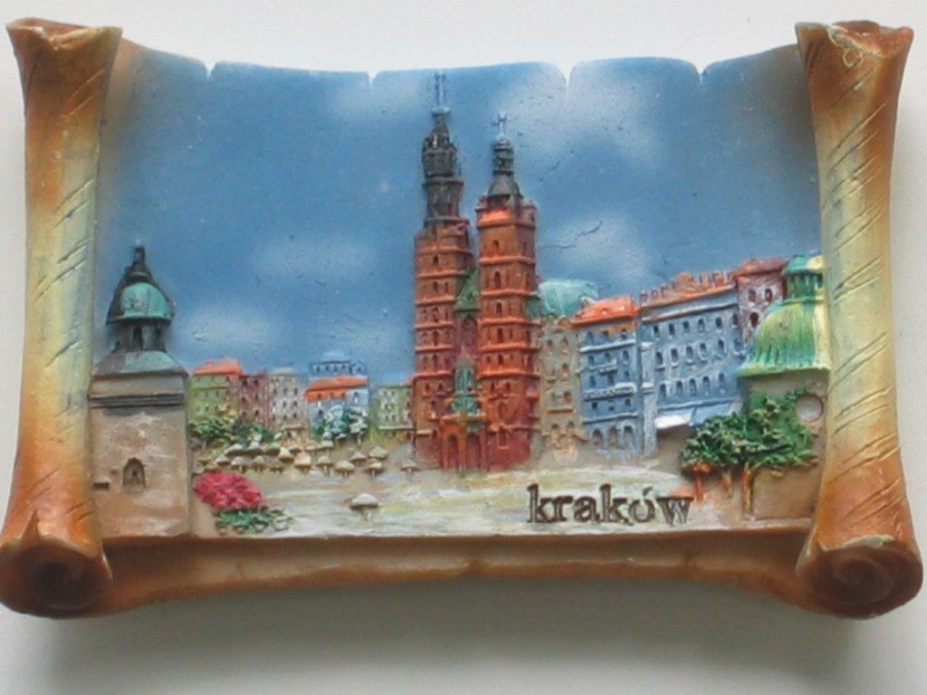 Magnes - Kraków - Rynek Główny Pergamin