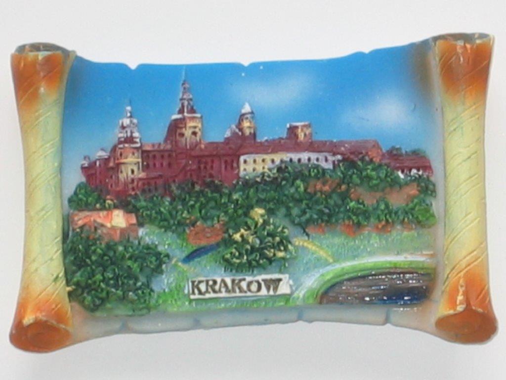 Magnes - Kraków - Wzgórze Wawelskie Pergamin