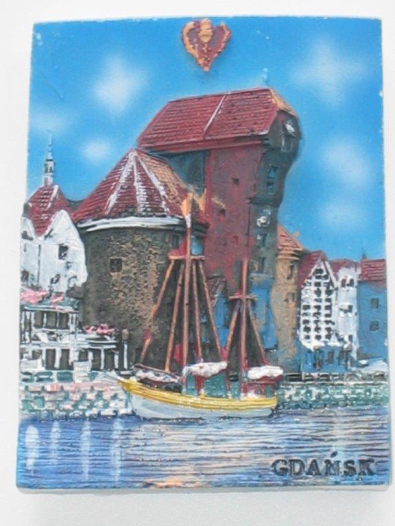 Magnet - Gdansk - Crane - Plank