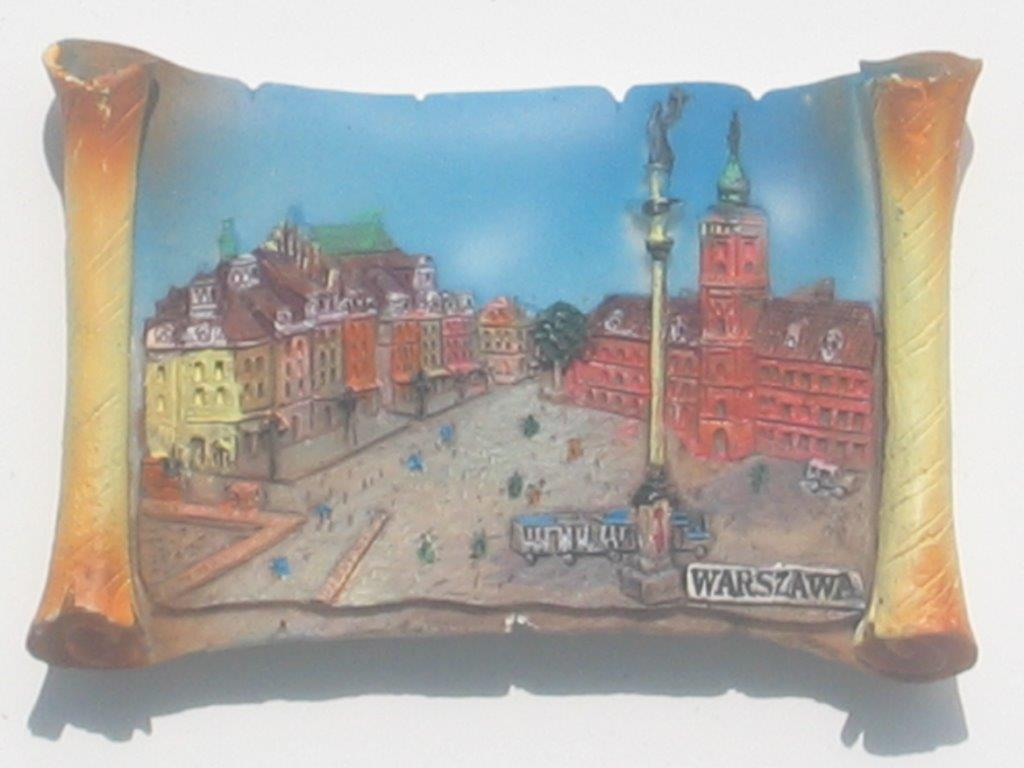 Magnet - Warsaw - Castle Square - Vellum