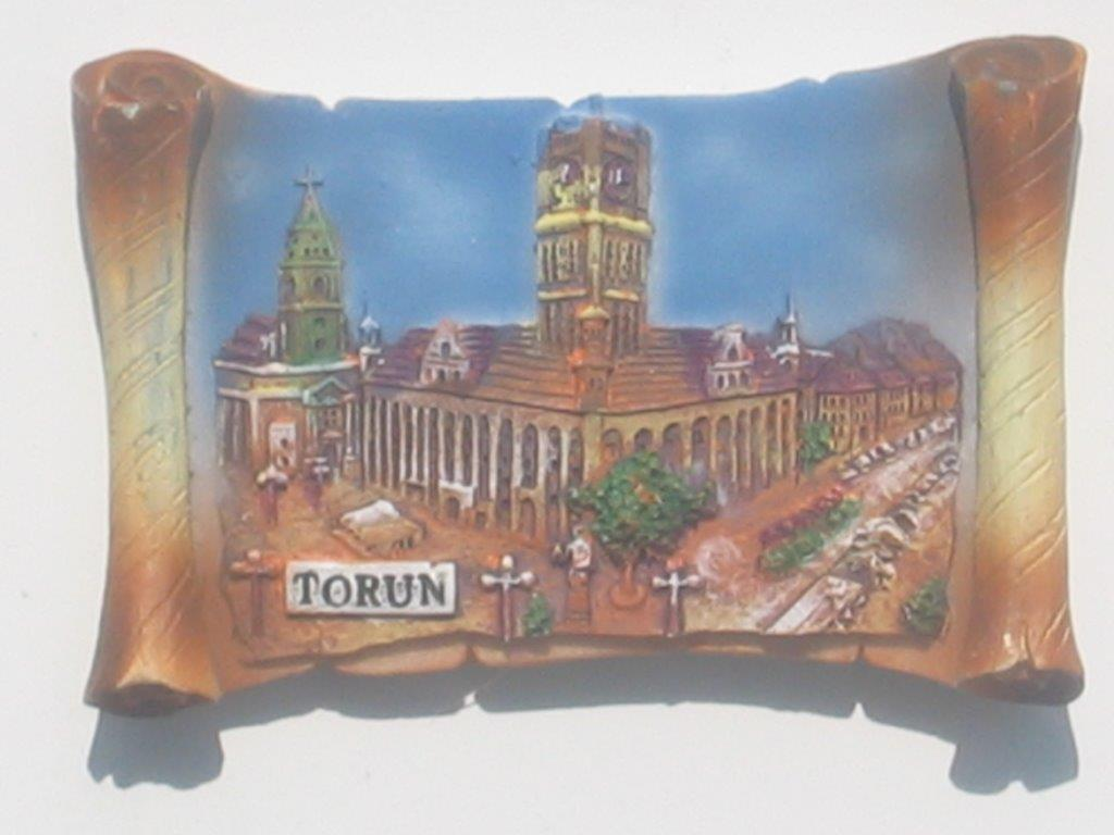 Magnet - Torun - Town Hall - Vellum