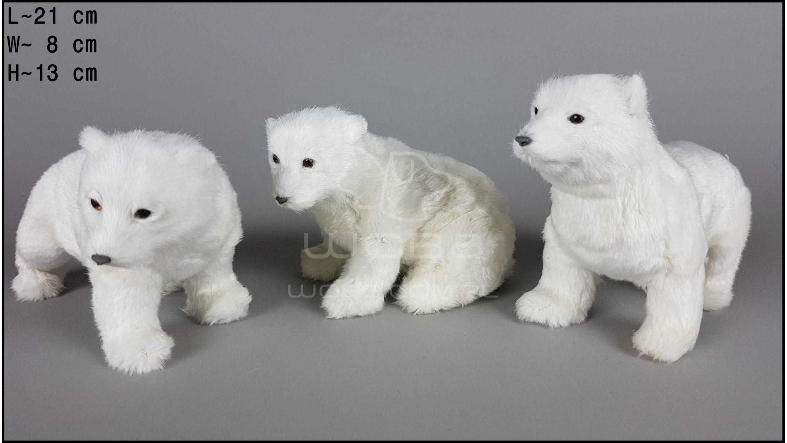 Niedźwiedzie polarne (3 szt. w opakowaniu)