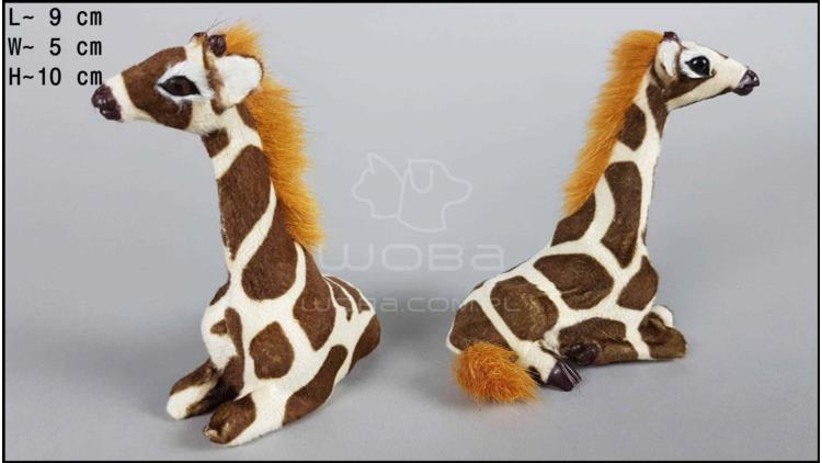 Giraffes sitting (2 pcs in a box)