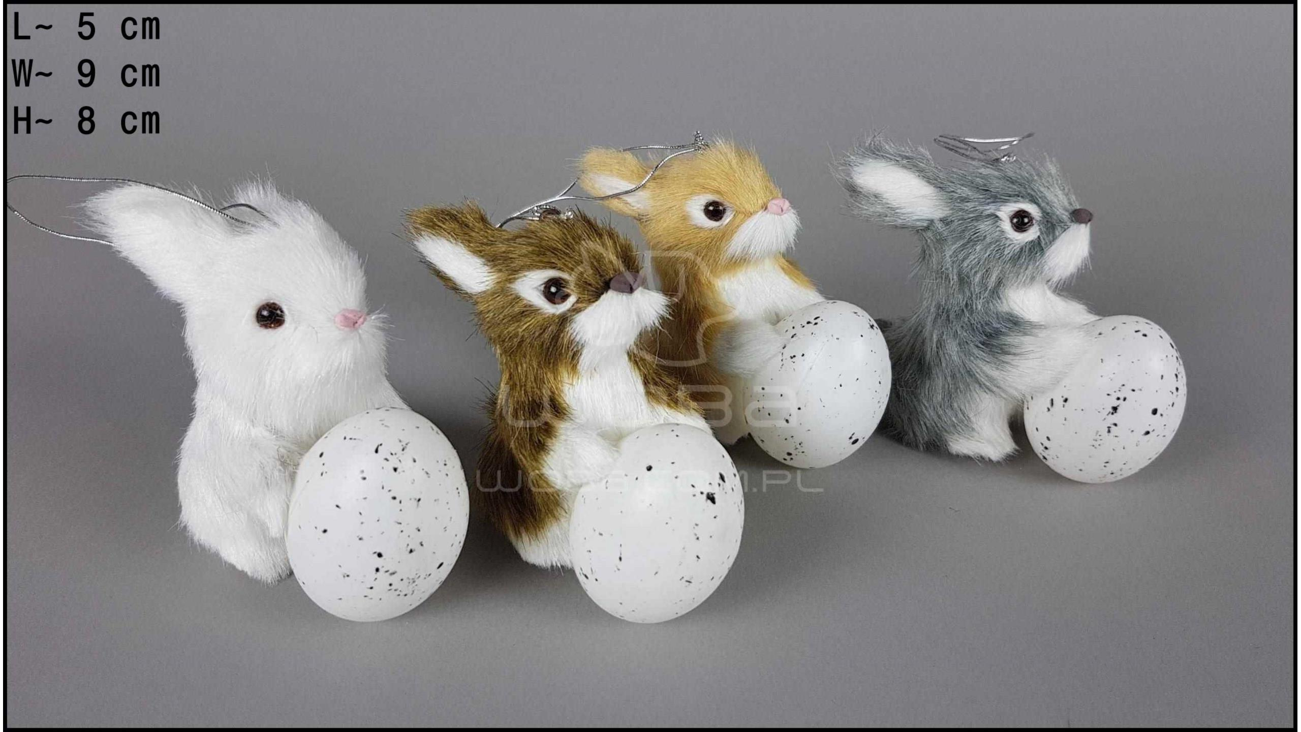 Rabbit with an egg (4 pcs in a box)