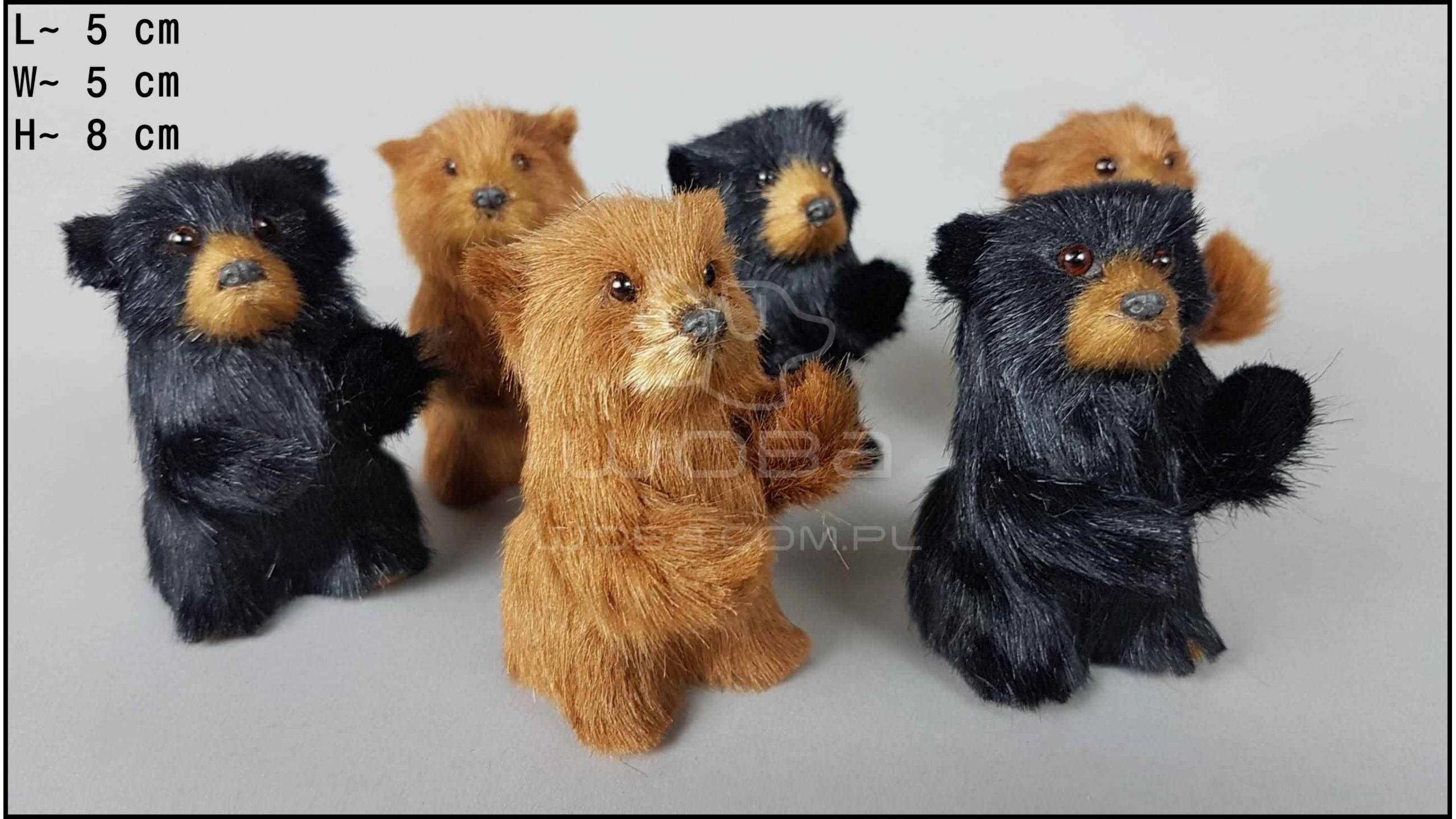 Niedźwiadki stojące (6 szt. w opakowaniu)