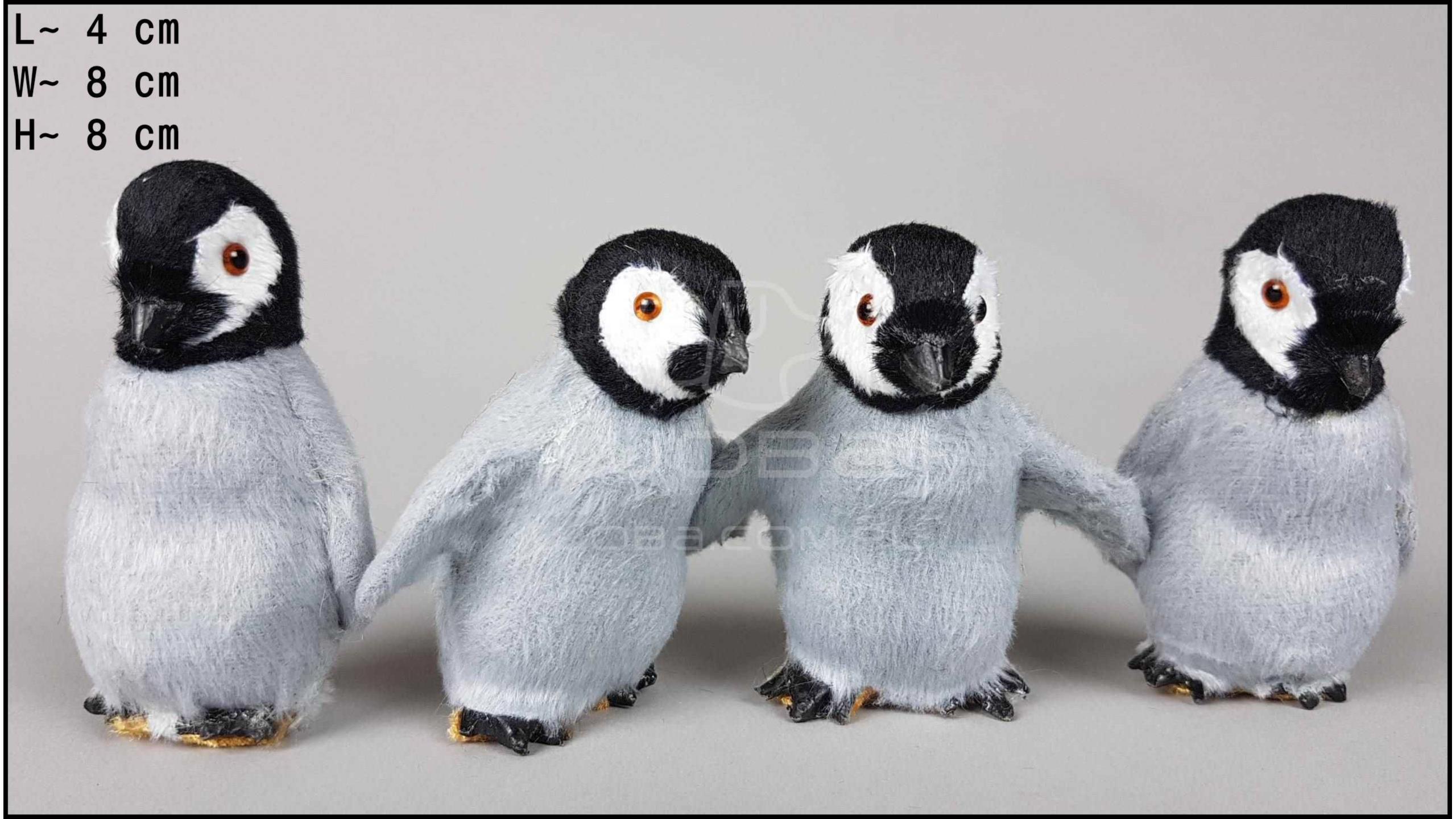 Pingwiny małe (4 szt. w opakowaniu)