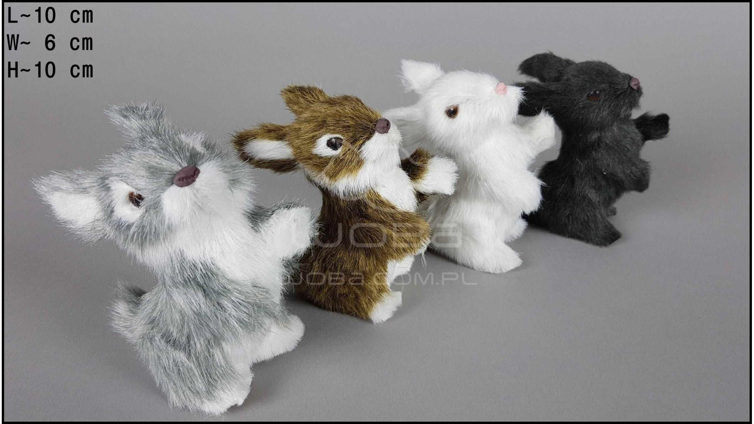 Rabbits standing (4 pcs in a box)