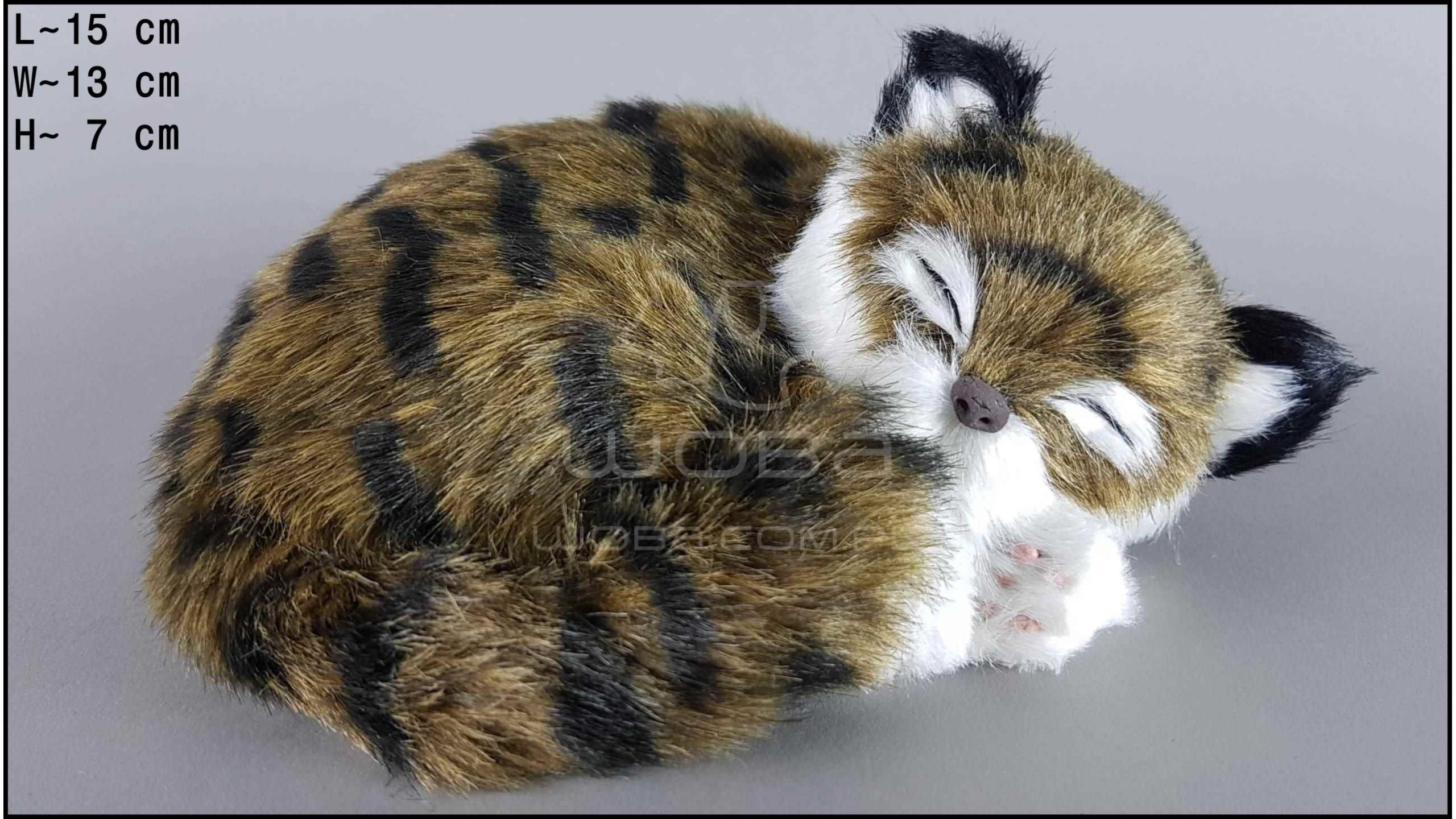 Kot śpiący Rozmiar S - Brązowy