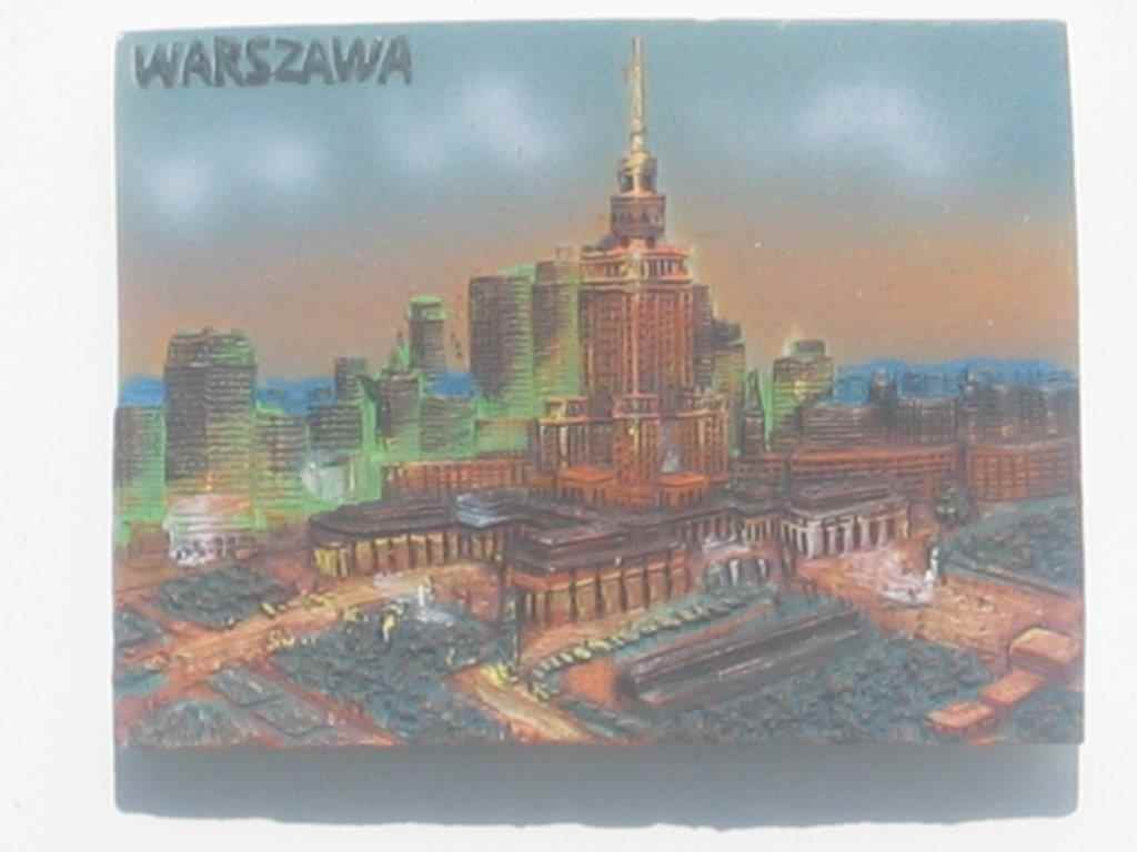 Magnet - Warsaw - Palace of Culture and Science - Plank