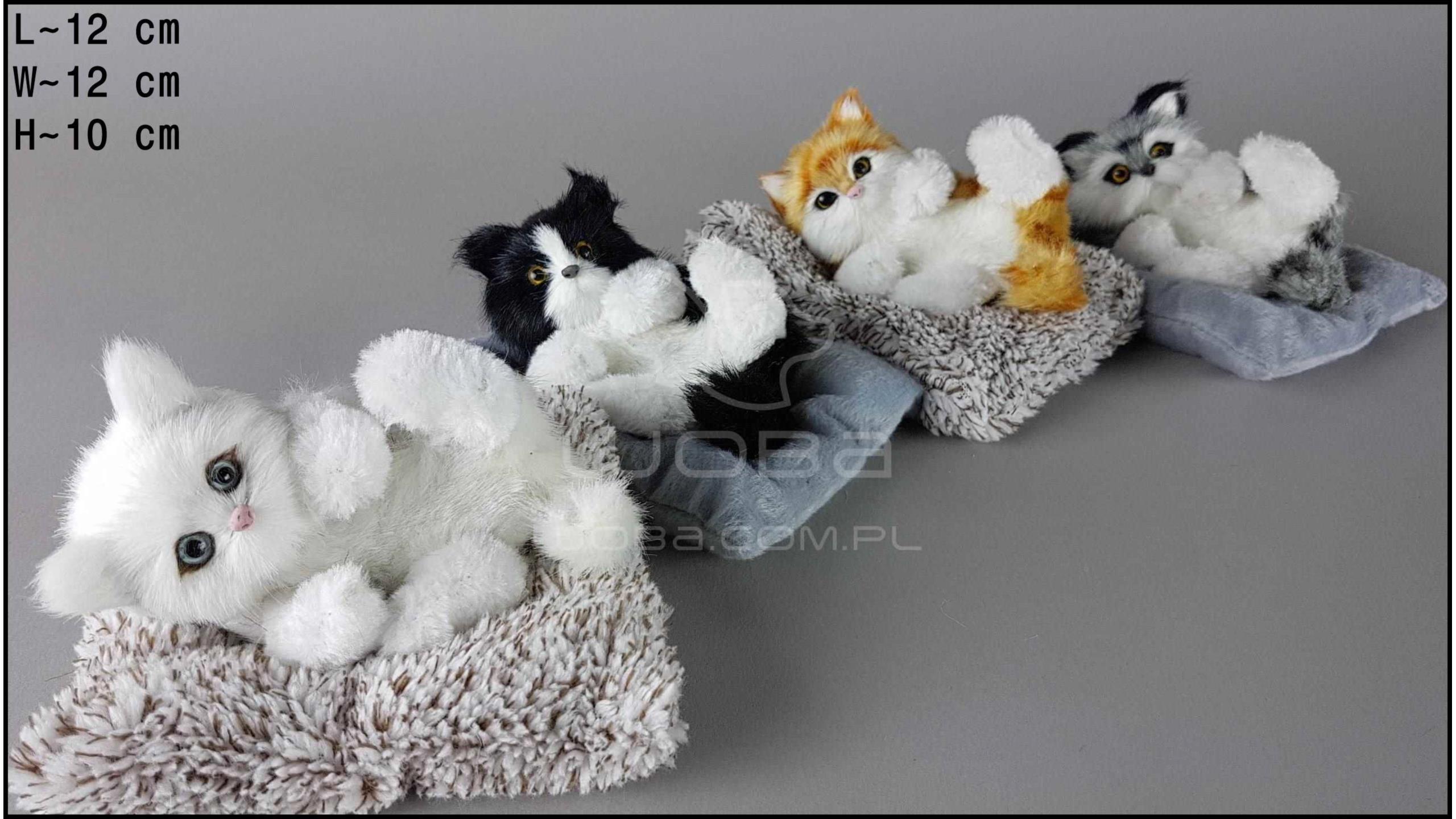 Kotki leżące na grzbiecie - Na rzep (4 szt. w opakowaniu)