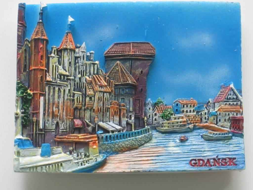 Magnet - Gdansk - Seaside - Plank